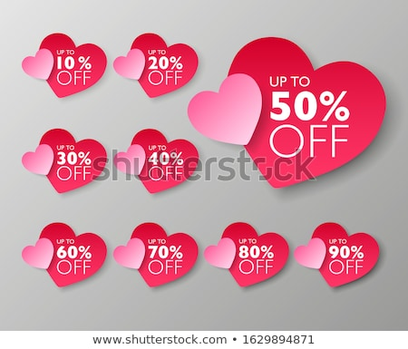 valentine heart emblem design  stock photo © creative_stock