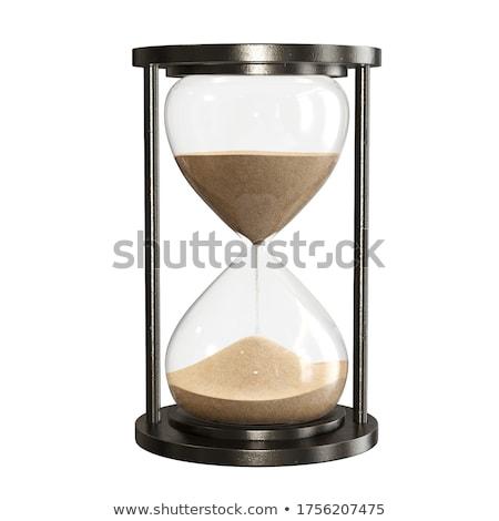 Hourglass isolated stock photo © SVitekD