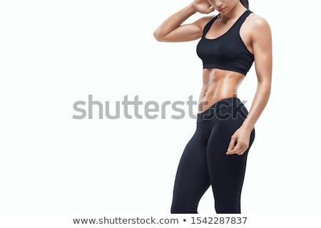 セルライト · クローズアップ · 皮膚 · 女性 · 白 - ストックフォト © ssuaphoto
