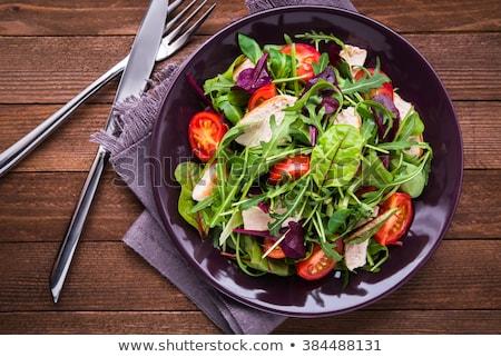 fresh green salad stock photo © lithian