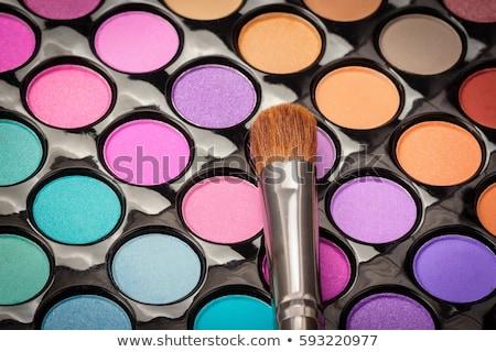 eye shadow color palette stock photo © zela
