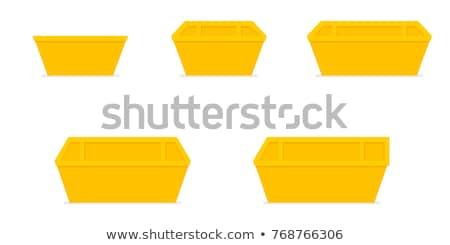 recyklingu · budowy · odpadów · ulicy · przemysłowych · ogrodzenia - zdjęcia stock © trgowanlock