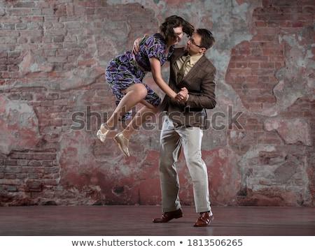 любящий · пару · создают · женщину - Сток-фото © konradbak
