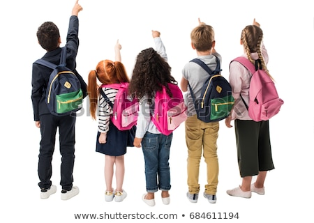 casual shot of elementary school kids stock photo © stockyimages