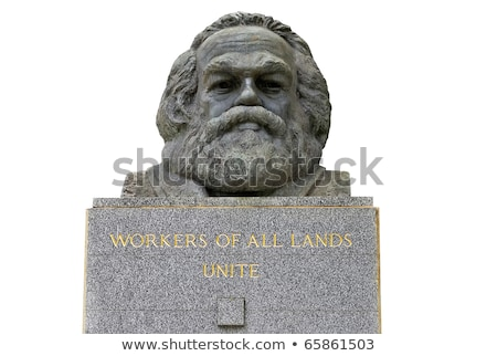 Stock photo: Karl Marx Bust in Highgate Cemetery