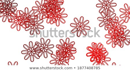 Rode rozen vector bloem steeg abstract Rood Stockfoto © beaubelle