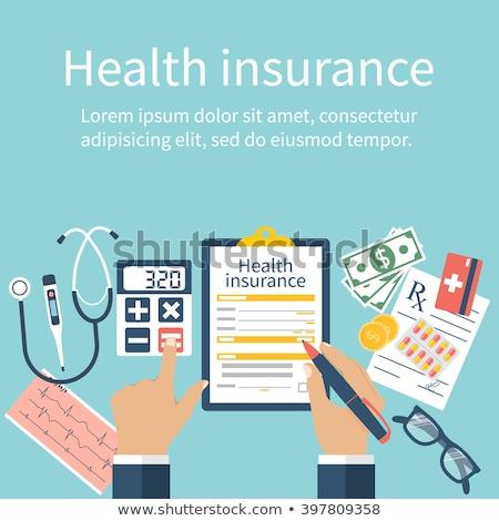Health Insurance Costs Stock photo © Lightsource