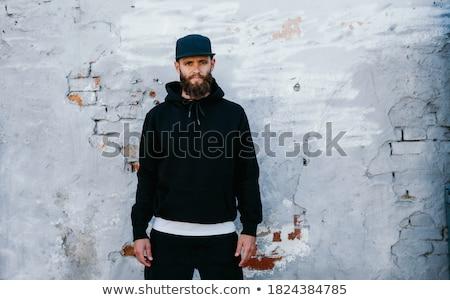 筋肉の · 男 · ジム · 魅力的な · ビッグ · 筋肉 - ストックフォト © arenacreative