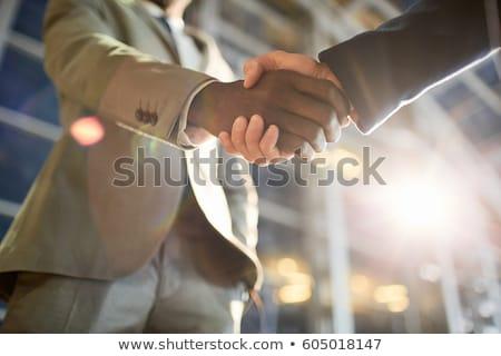 выстрел · бизнеса · профессионалов · лице · команда - Сток-фото © stockyimages