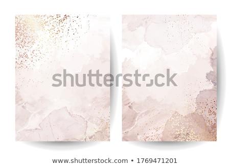 Rosolare agata gemma isolato bianco abstract Foto d'archivio © jonnysek