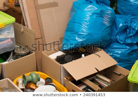 box of junk stock photo © songbird