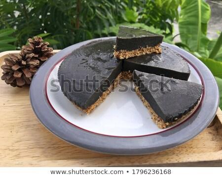 Sweet gâteaux plaque désert lait Photo stock © sfinks
