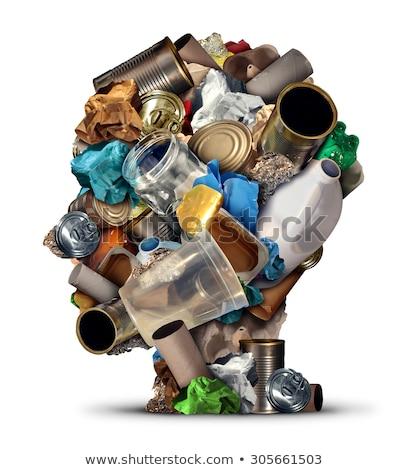 çöp · çözüm · çevre · düz · yol · yol - stok fotoğraf © lightsource