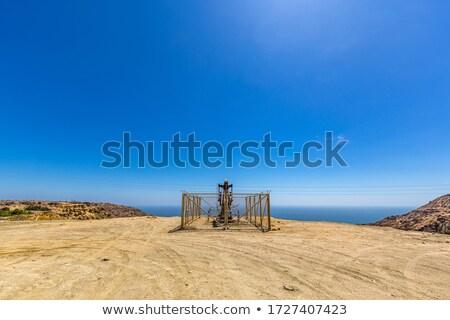 油 ポンプ 砂漠 ペルー 空 業界 ストックフォト © xura