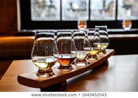 Destylarnia fabryki zbiornika whisky whisky produkcji Zdjęcia stock © asturianu