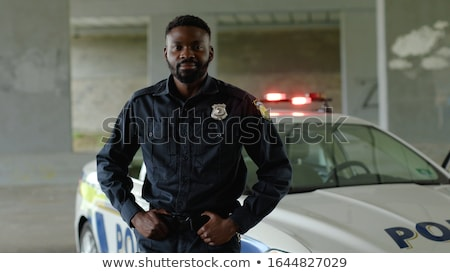 Stock photo: American law and order