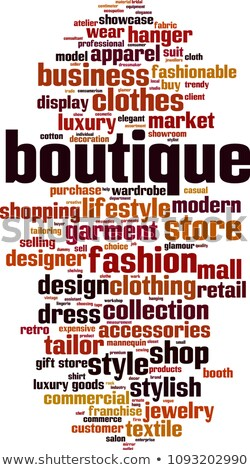 business   retro word cloud concept stock photo © tashatuvango