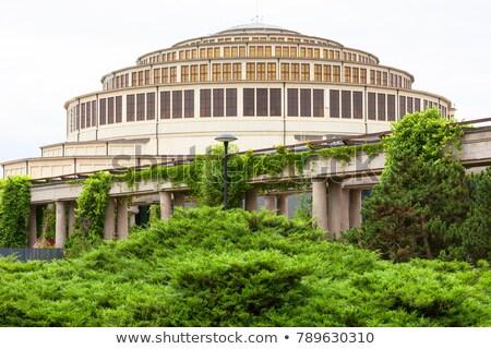 Hal Polen gebouw reizen architectuur Europa Stockfoto © phbcz