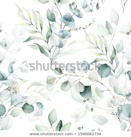 Seamless fern wallpaper background pattern Stock photo © Luseen