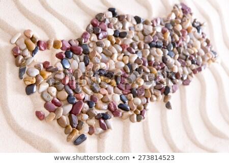 Geografia Turcja kamienie piasku piasek na plaży Zdjęcia stock © ozgur