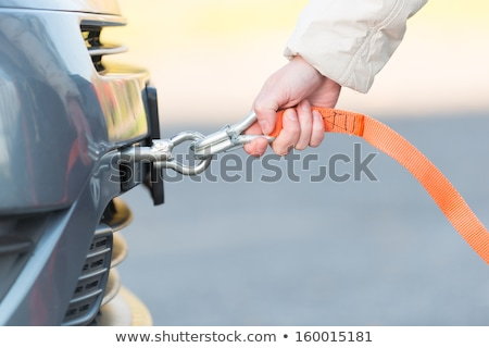 Orange Towing Rope with Hook Stock photo © stevanovicigor