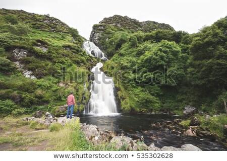 滝 · アイルランド · 水 · 旅行 · 秋 · ストリーム - ストックフォト © phbcz