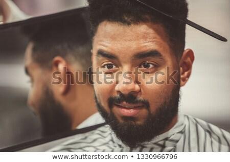 Bastante pelo estilista hombre nuevos Foto stock © wavebreak_media