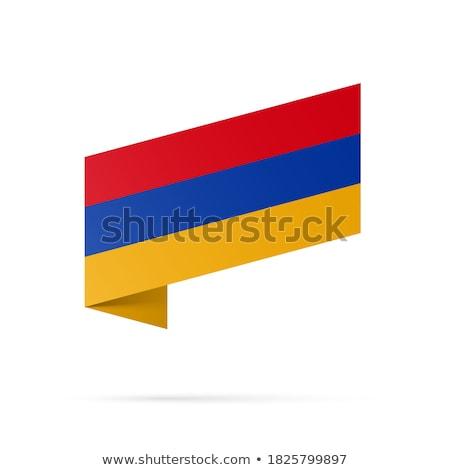 Armenien · offiziellen · Flagge · Design · Welt · Zeichen - stock foto © ojal