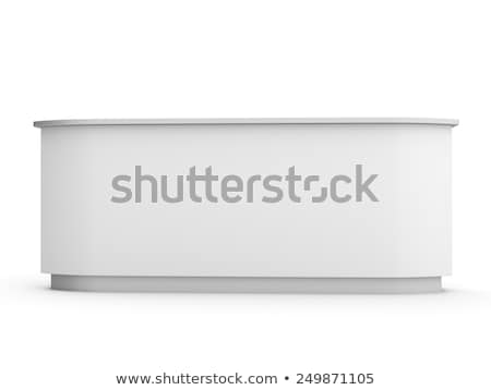 Isolated business stall,  Stock photo © netkov1