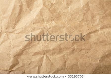 brązowy · papier · worek · tekstury - zdjęcia stock © karandaev