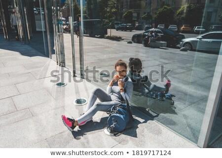 Sporty woman touching her elbow Stock photo © wavebreak_media
