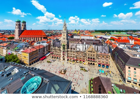 old town hall altes rathaus building at marienplatz in munich stock photo © vladacanon