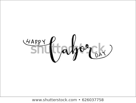 Dzień pismo mężczyźni strony biały Zdjęcia stock © mybaitshop