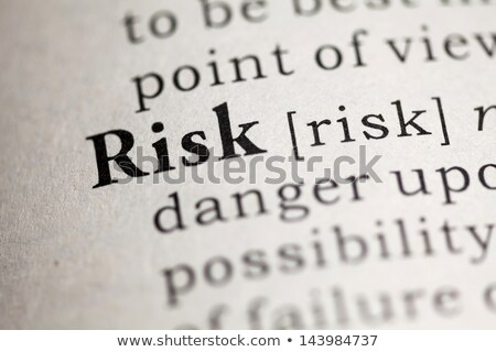 定義 言葉 リスク 辞書 ビジネス セキュリティ ストックフォト © Zerbor