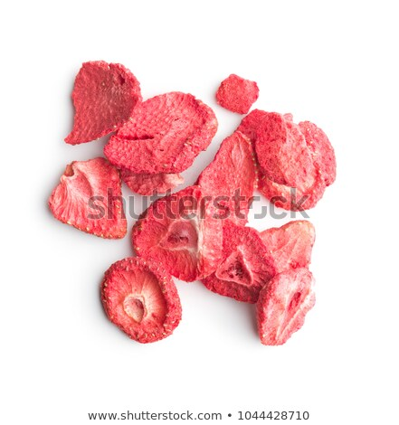 Essiccati fragole dettaglio full frame sfondo candy Foto d'archivio © Digifoodstock