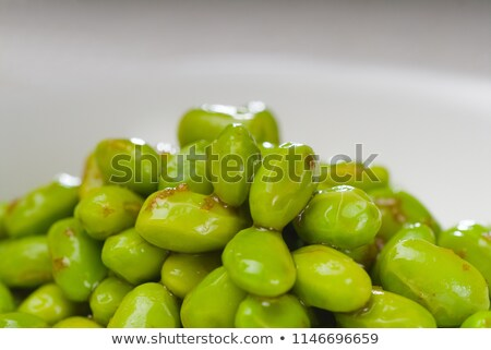 steamed green beans ialian style stock photo © keko64