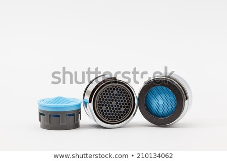 Isolated plastic faucet aerator Stock photo © manfredxy