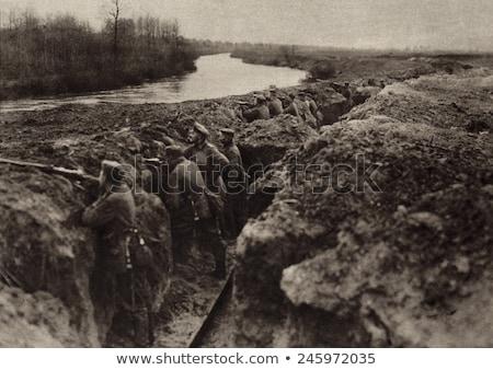первый Мир войны окоп старые итальянский Сток-фото © Antonio-S