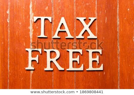 Free word on plate Stock photo © fuzzbones0