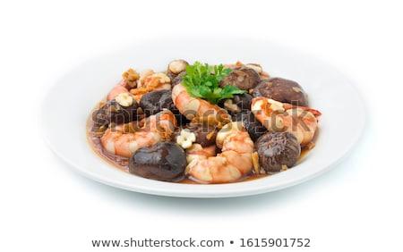жареный · продовольствие · здорового · морепродуктов · питание - Сток-фото © Digifoodstock