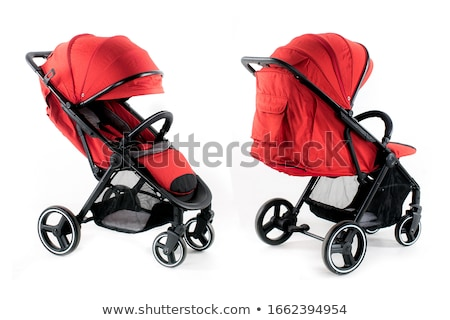 Colorful red buggy or baby carriage Stock photo © adrian_n