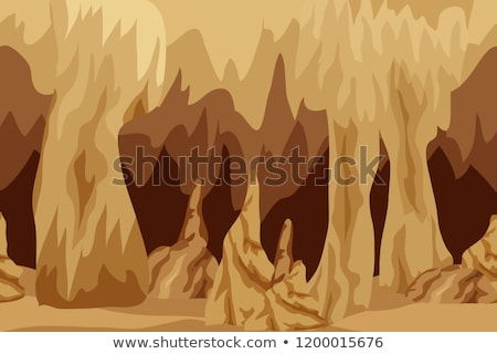 Fantasy Style Dwarf in the Magic Cave Stock photo © Dazdraperma