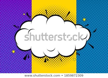 heldere · vector · zon · verf · spatten · effect - stockfoto © beholdereye