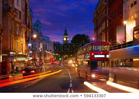 ロンドン ビッグベン 広場 トラフィック クロック 通り ストックフォト © lunamarina