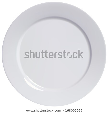 white dinner plate Stock photo © Digifoodstock