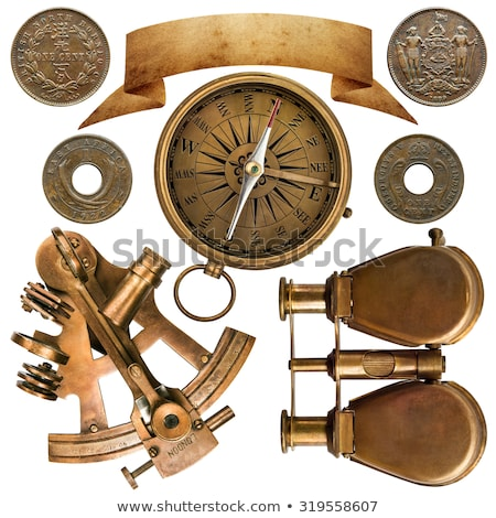 Sea compass on a white background stock photo © mayboro1964