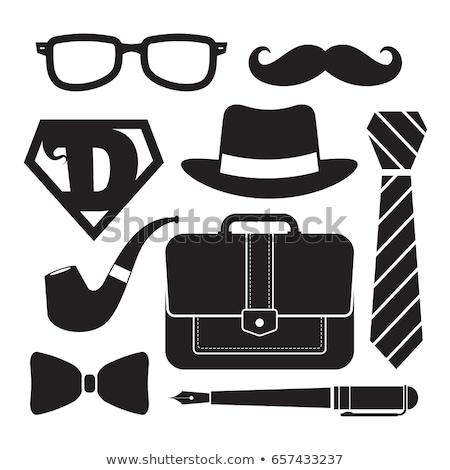 silhouette icon fathers day stock photo © olena