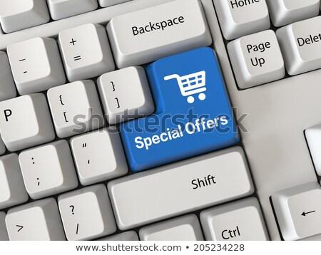 Special Offer - Keyboard Key Concept. 3D. Stock photo © tashatuvango