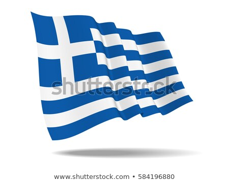 Flag of Greece from space Stock photo © Harlekino