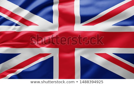 Groot-brittannië vlag land Verenigd Koninkrijk standaard banner Stockfoto © romvo